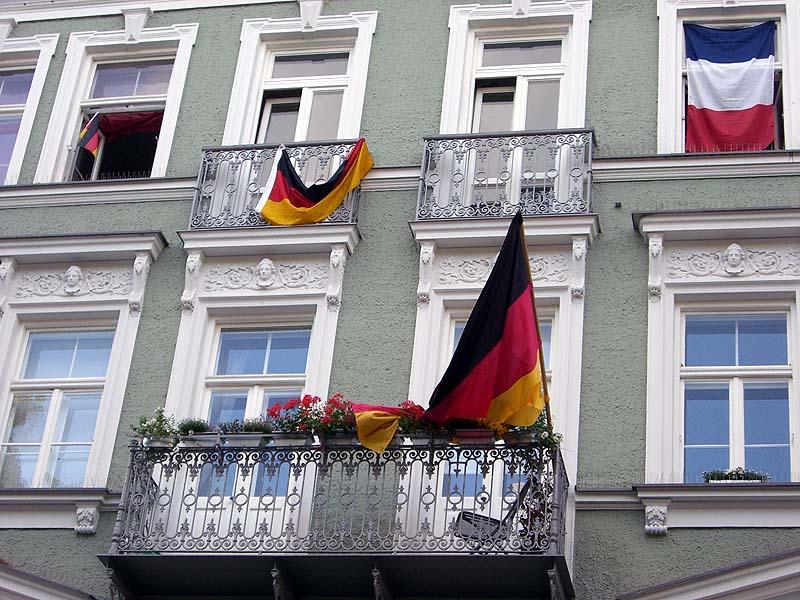 Deutschland während der Fußball-WM