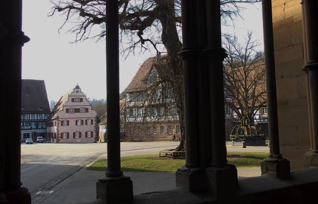 BlickAusKlosterInDenKlosterhof