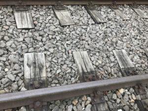 Bahn-Schienen / Foto: Larissa Vassilian