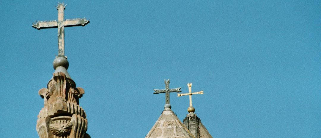 Kirchenkreuze / Foto: Larissa Vassilian